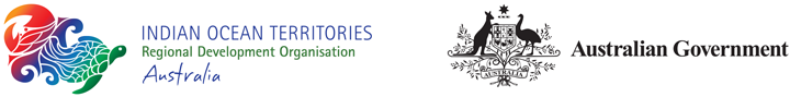 Indian Ocean Territories Regional Development Organisation logo and Australian Government logo
